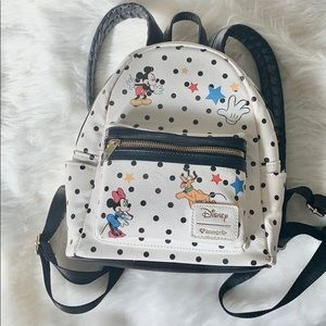 DISNEY Loungefly Mickey & Friends mIni backpack